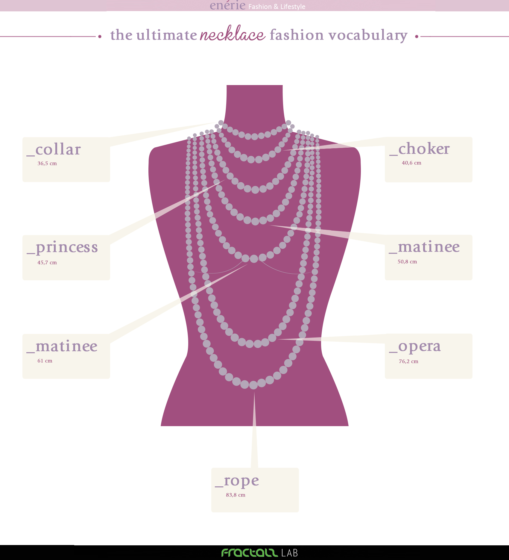 Fractals The Ultimate Necklace Fashion Vocabulary