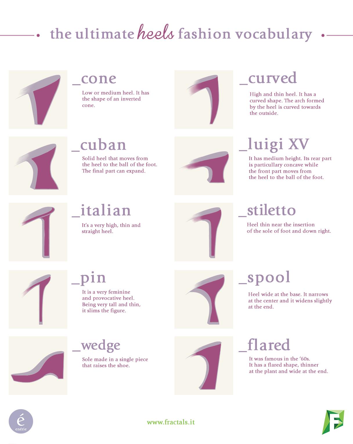 heels-vocabulary