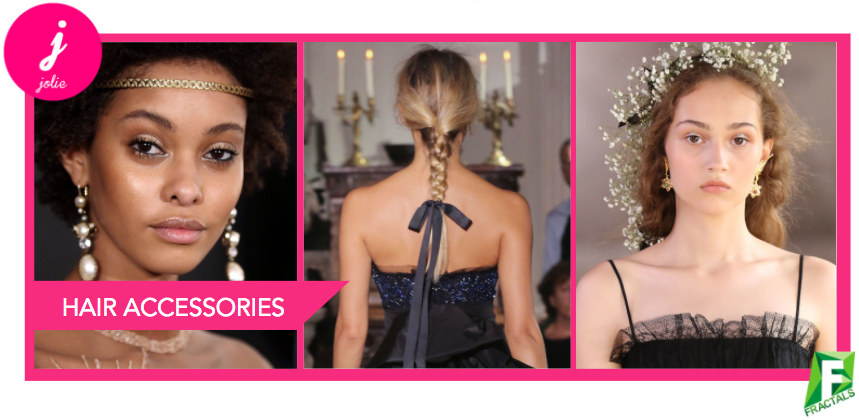 Hair Accessories - Top 5 Beauty Trends from the AW18 Catwalks