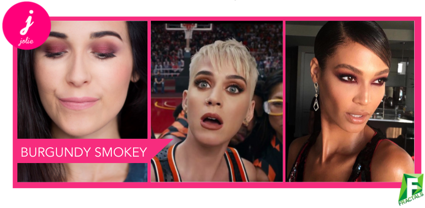 Top 5 Instagram Makeup Fall 2017 Burgundy Smokey