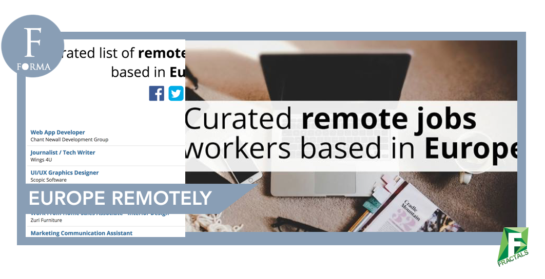 Fractals | Top 5 New Tools For Remote Workers